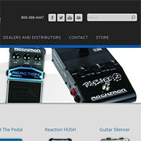 Effects pedals for metal players