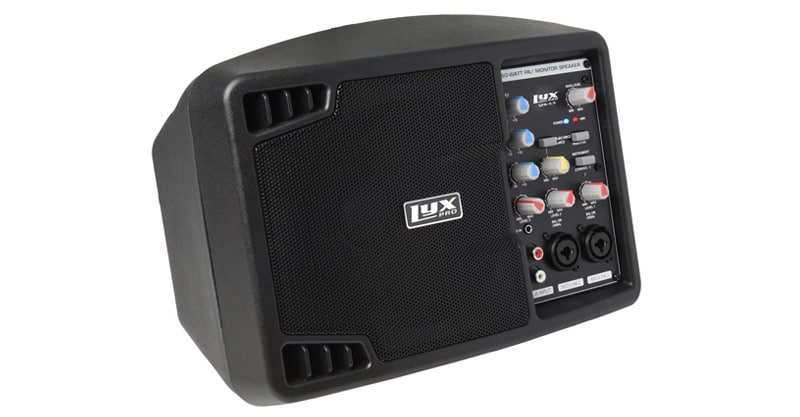 LyxPro SPA-5.5 Small PA Speaker Monitor Class-D Amplifier Active Speaker System