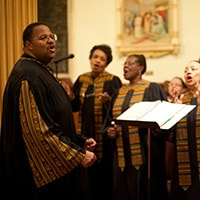 Find a church choir to sing with