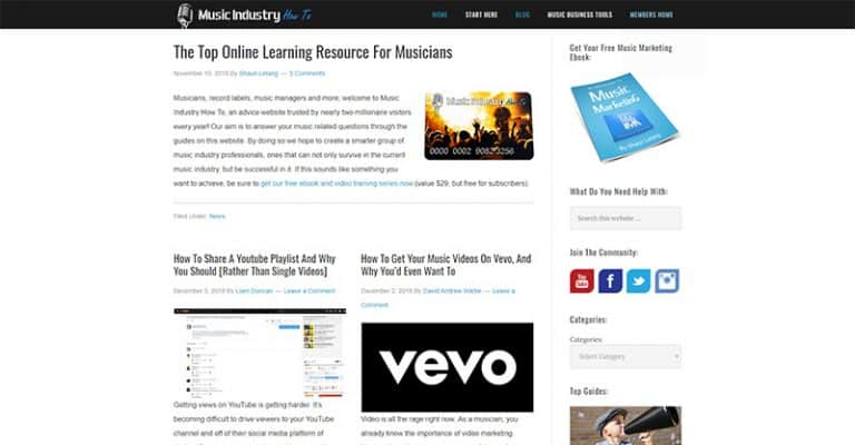 The Best Independent Music Blogs For Unsigned Artists To Learn The Industry
