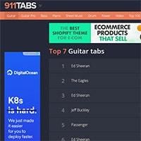Buy premium guitar music online