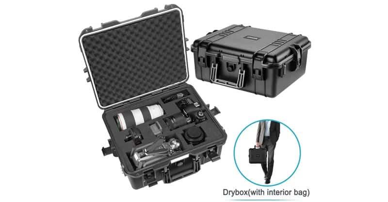 Neewer NW-200 Waterproof Hard Case With Pre-Cut Cubed Foam Inserts