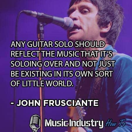 Guitar Quote 7 - John Frusciante