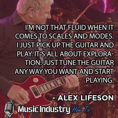 Guitar Quote 8 - Alex Lifeson