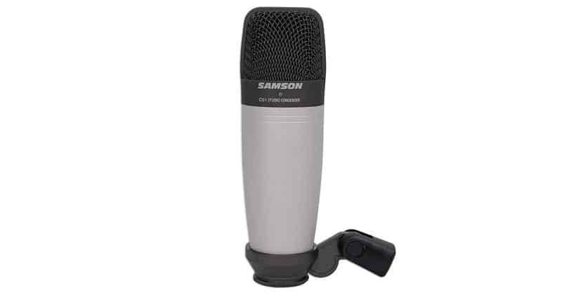 Samson C01 Vocal Condenser Microphone Is A Budget Friendly Option