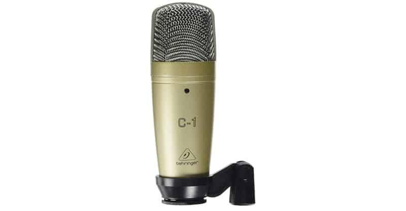 Behringer C-1 Professional Larger-Diaphragm Studio Condenser Microphone