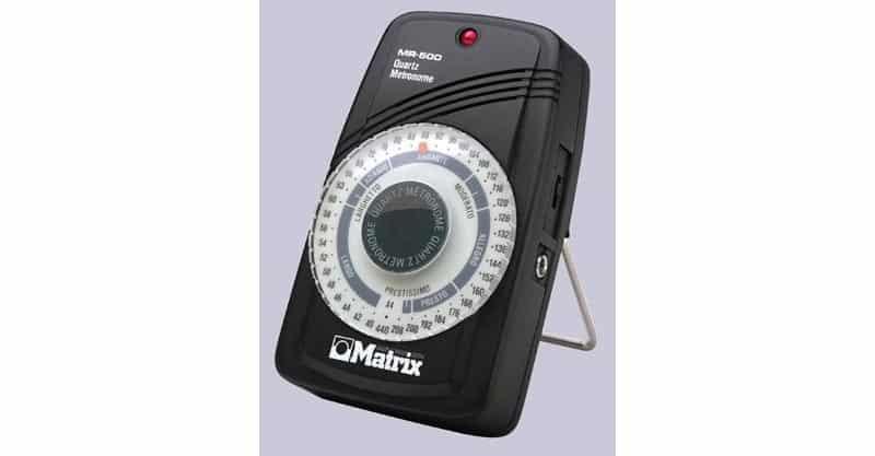 Music Treasures Co. MR500 Matrix Quartz Metronome