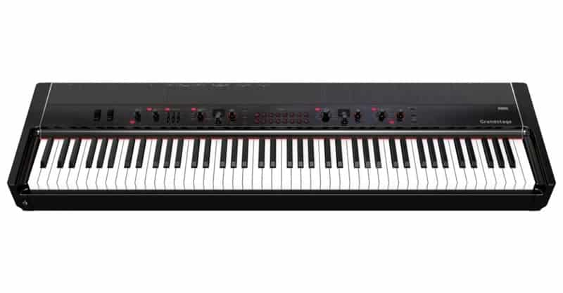 Korg SP280BOK 88 Key Digital Piano With Speakers/Stand