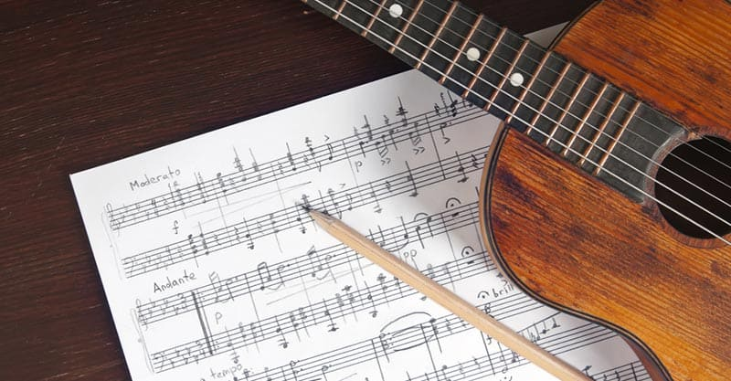 Sight-reading for guitarists