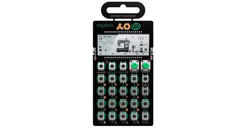 Teenage Engineering TE010A2012 PO-12 Rhythm Drum Machine & Sequencer