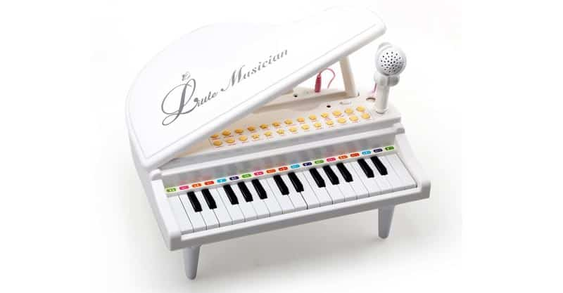 Amy & Benton Multifunctional Electronic Toy Piano With Microphone