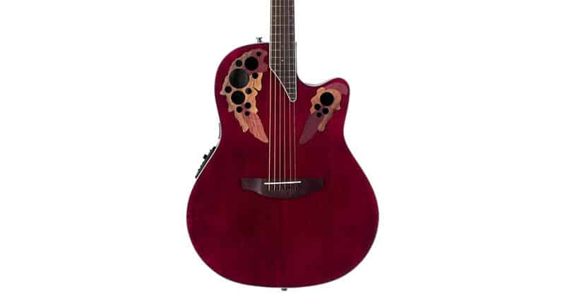 Ovation CE-48PR Celerity Collection 6 String Acoustic-Electric Guitar