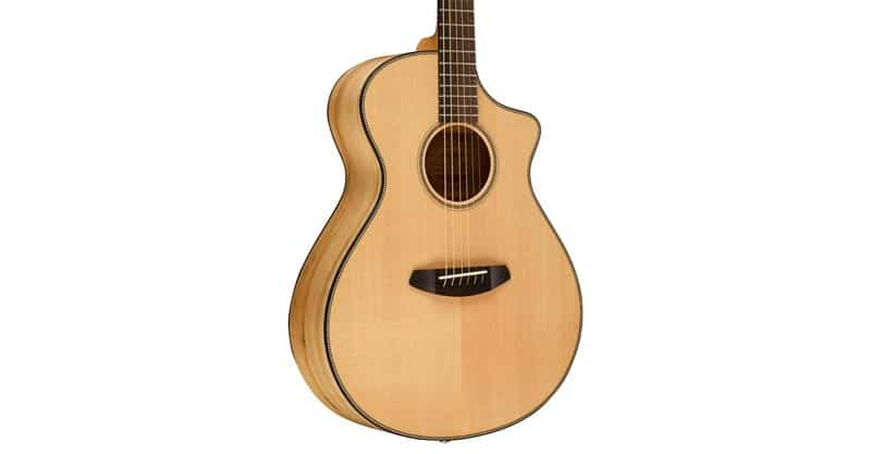 Breedlove ORCN01CESSMY Oregon Series Concert CE Sitka-Myrtlewood Acoustic-Electric Guitar With Deluxe Hardshell Case