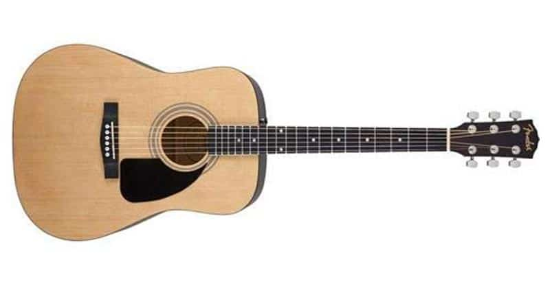 Fender FA-100 Beginner Acoustic Guitar With Gig Bag