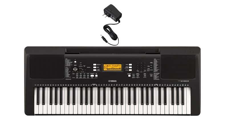 Yamaha PSR-E363 Portable Keyboard With Power Adaptor