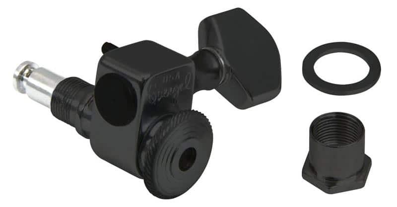 Sperzel 6 In-Line Locking Tuners Black