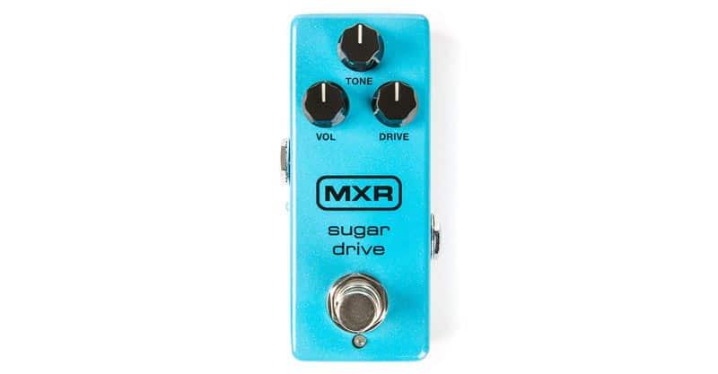 MXR Sugar Drive M294 Overdrive Guitar Effects Pedal