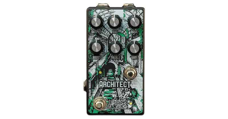 Matthews Effects The Architect V3 Foundational Overdrive/Boost Pedal