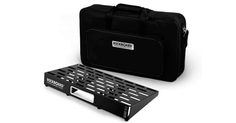 9. Rockboard By Warwick Quad 4.2 Pedalboard With Gig Bag