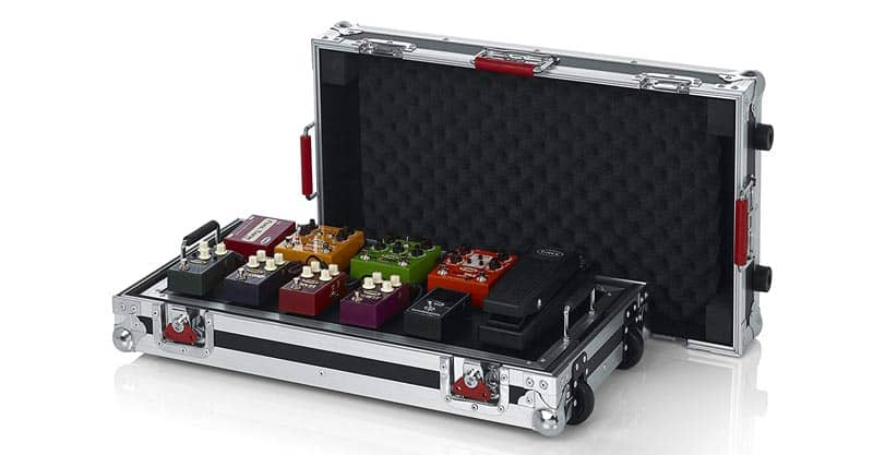 10. Gator Cases G-TOUR Series Guitar Pedal Board With ATA Road Case