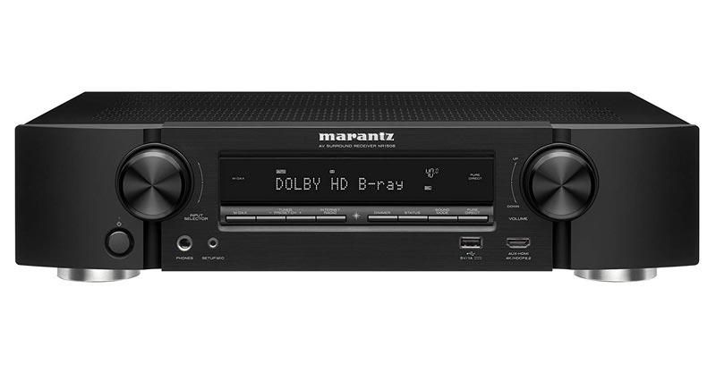 Marantz NR1508 AV Audio & Video Component Receiver