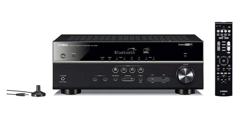 Yamaha RX-V485BL 5.1-Channel 4K Ultra HD Av Receiver With MusicCast