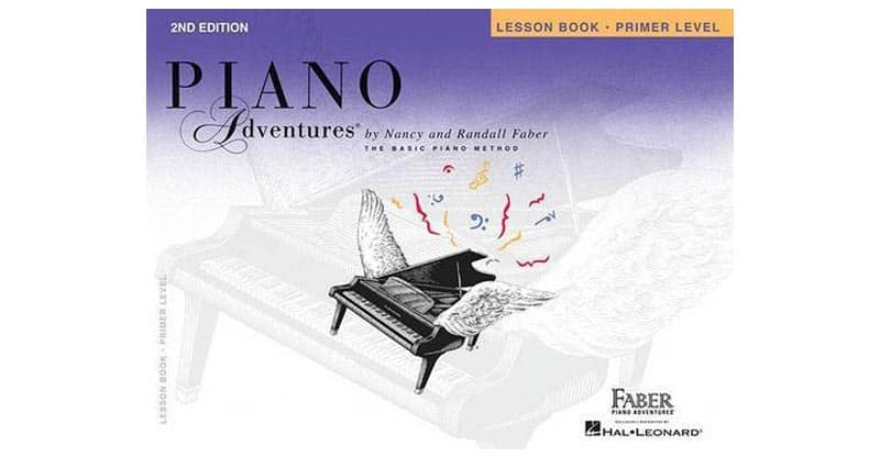 Primer Level – Lesson Book: Piano Adventures
