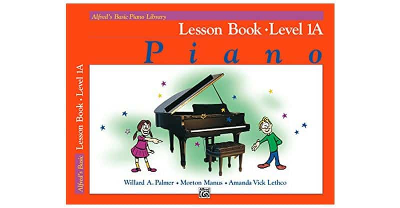 Alfred's Basic Piano Library – Lesson Book 1A