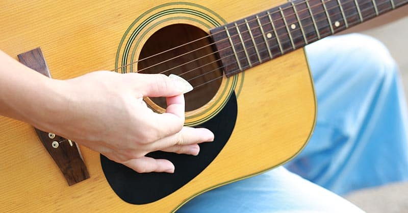Proper picking technique