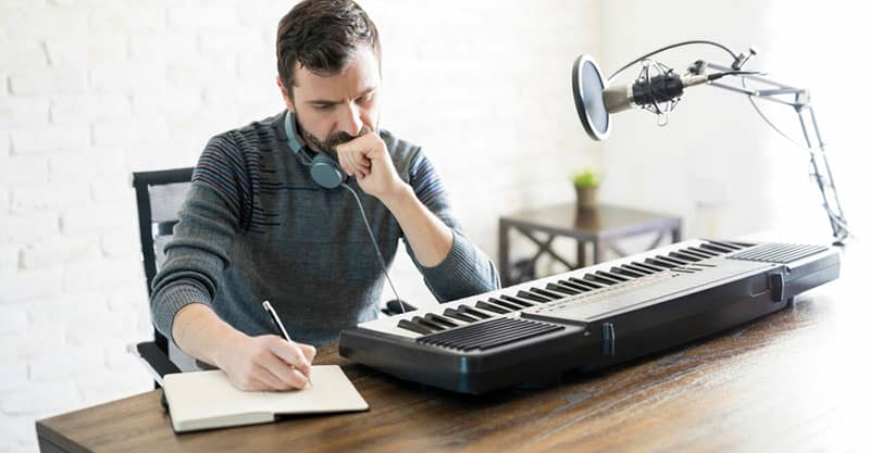 The technique to write amazing songs