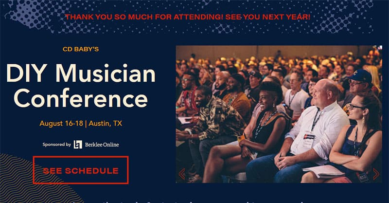 CD Baby's DIY Musician Conference