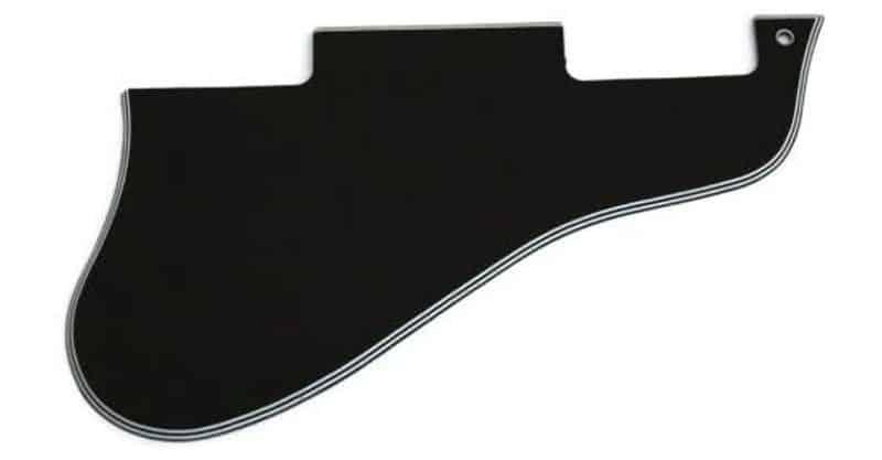 Custom World Guitar Parts Short ES 335 Guitar Pickguard