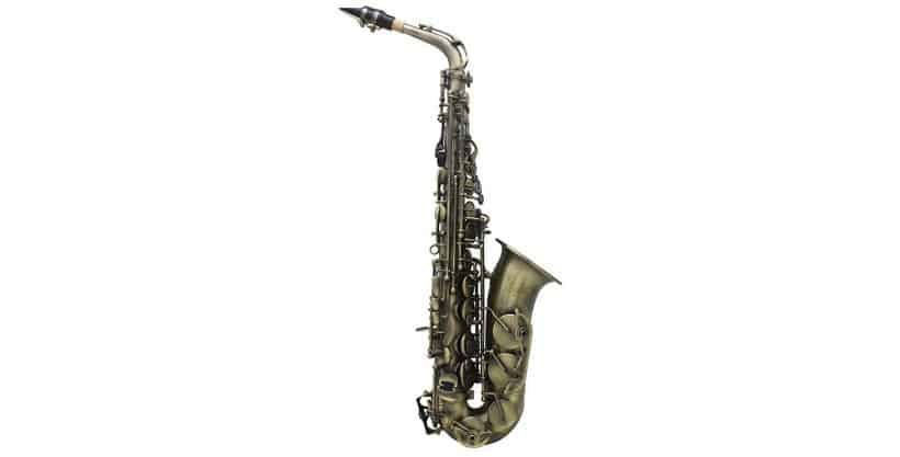 ammoon Antique Finish Bend Eb Alto Saxophone