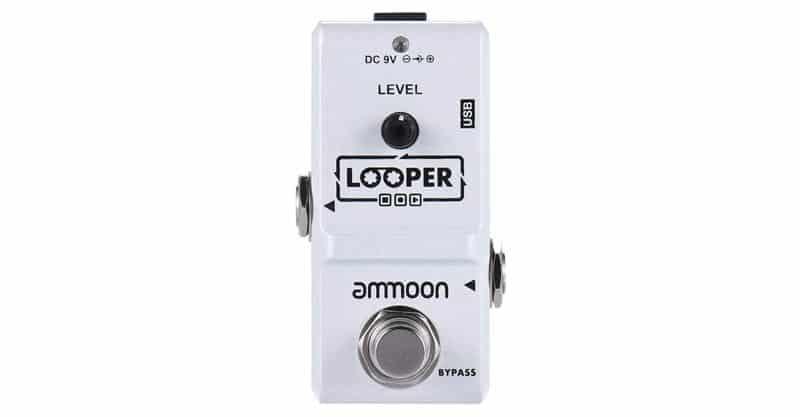 ammoon Electric Guitar Effect Pedal Looper