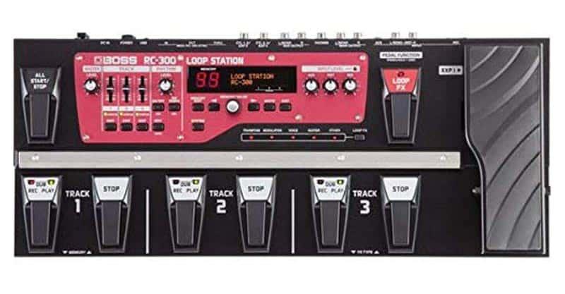 Boss RC-300 Loop Station Guitar Pedal