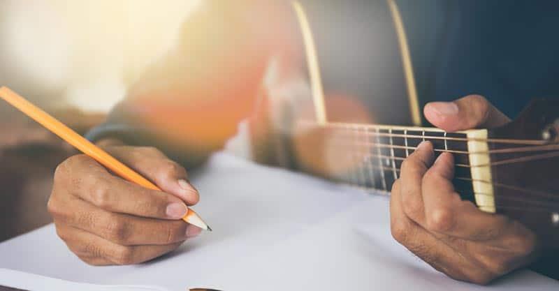 Writing new songs