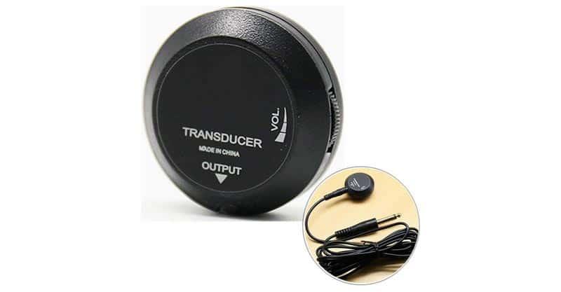 Luvay Piezo Contact Microphone Transducer Pickup