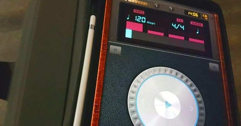 iPad metronome app