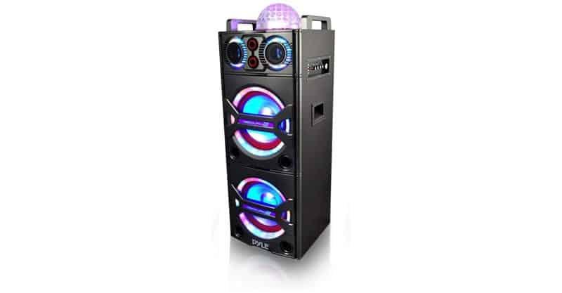 Pyle PSUFM1043BT Bluetooth PA Loudspeaker Karaoke System