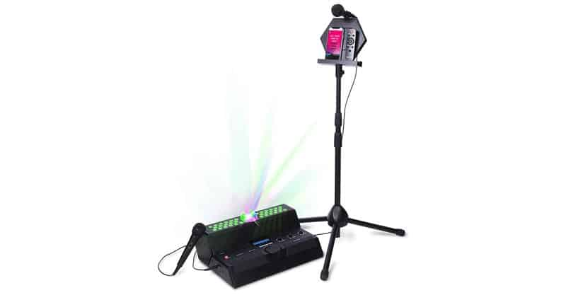 Singsation Karaoke Machine – Main Stage All-In-One Premium Karaoke Party System