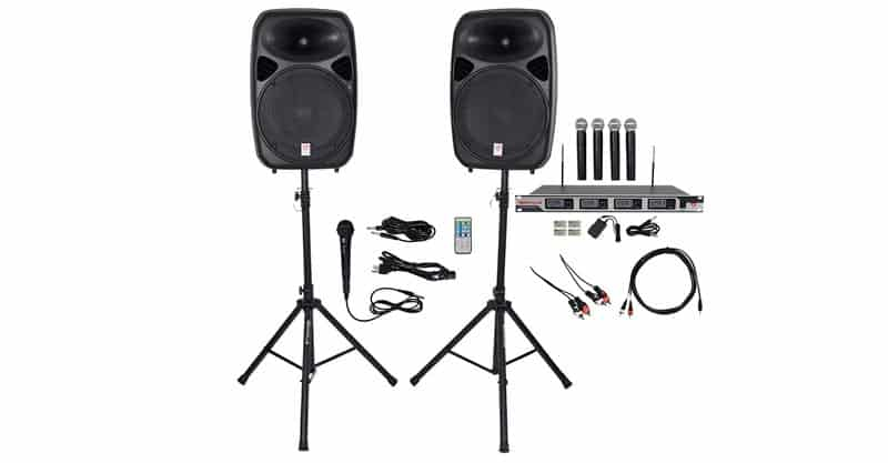 Rockville Dual Karaoke Machine/System
