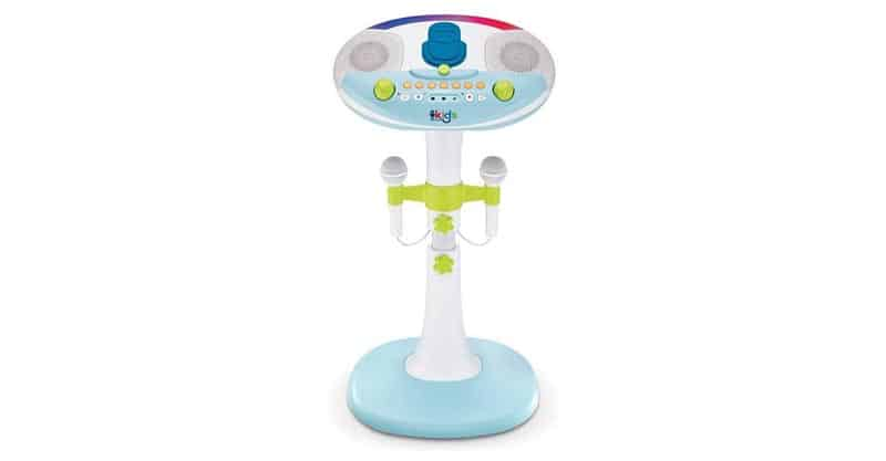 Singing Machine Kid's SMK1010 Pedestal Kids Karaoke System With Stand
