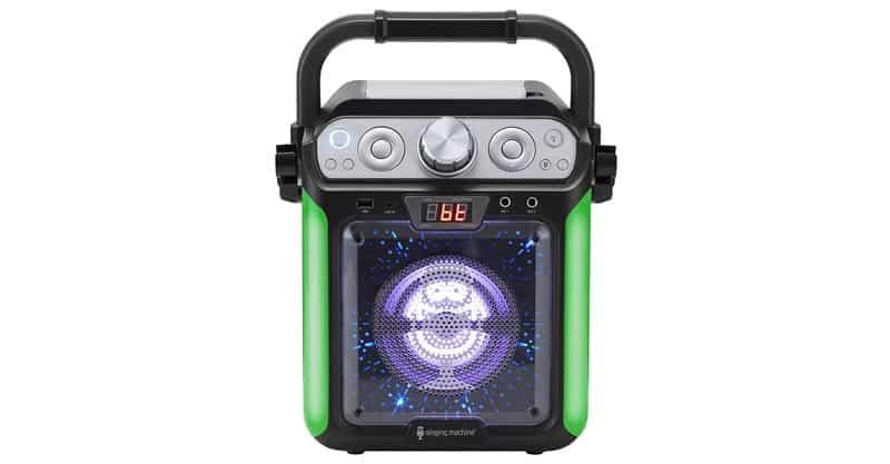 Singing Machine SML682BTBK Groove Cube CDG Karaoke System