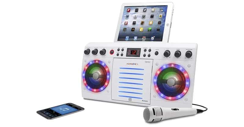 iKaraoke KS303W-BT Bluetooth CD&G Karaoke System