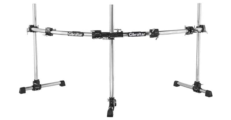 Gibraltar GRS-850DBL Curved Double-Bass Rack