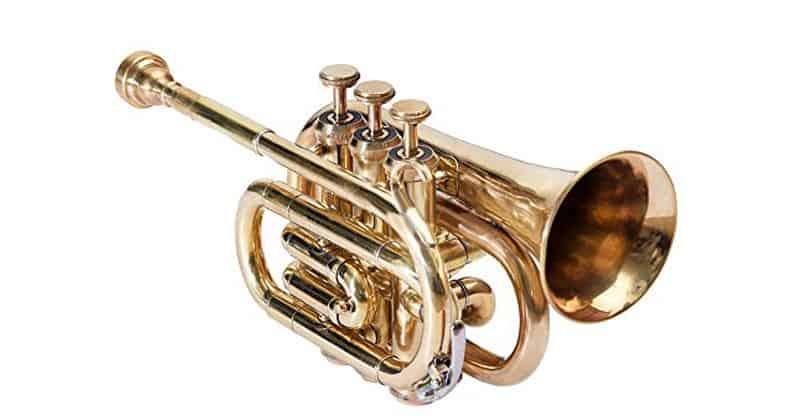 Shreyas PoTr-05 Pocket Trumpet Bb Brass SCX836