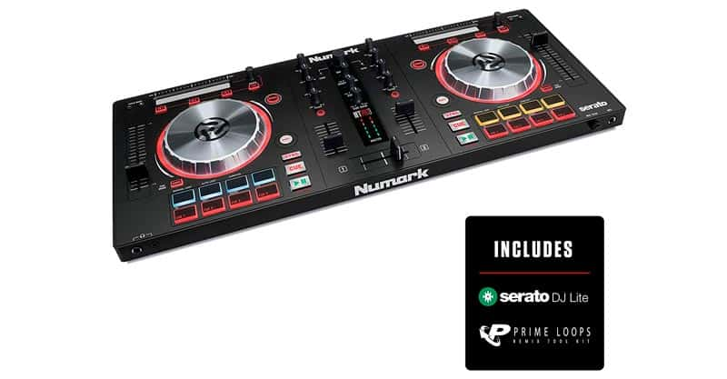 Numark Mixtrack Pro 3 | All In One 2 Deck DJ Controller For Serato DJ