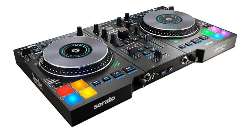 Hercules Djcontrol Jogvision 2-Channel USB DJ Controller
