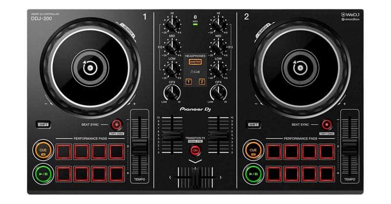 Pioneer DJ Smart DJ Controller (DDJ-200)