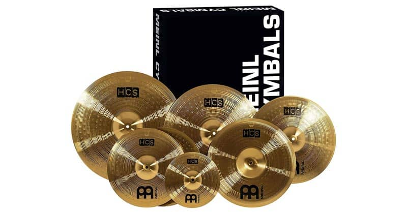 Meinl Cymbals Super Set Box Pack With Hihats, Ride, Crashes, China And Splash (HCS-SCS)